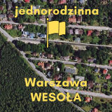 1960 m2 – Jednorodzinna – Warszawa Wesoła